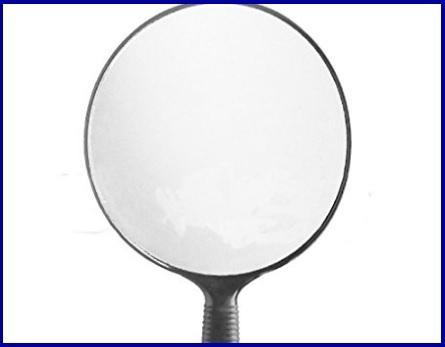 Specchio Parrucchiere Con Manico