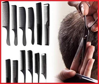 Pettini per parrucchieri set completo
