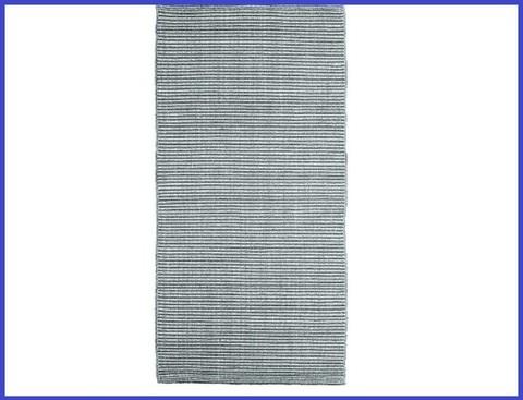 Passatoia in cotone grigio