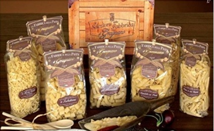 Scatola Con Vari Tipi Di Pasta Gragnano Made In Italy