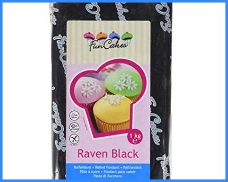 Pasta di zucchero nera