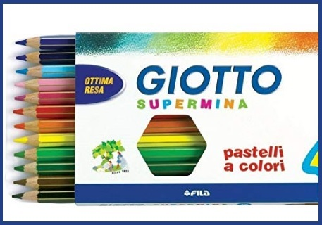 Pastelli Giotto Supermina