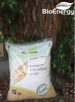 Pellet in puro legno di abete 25 sacchi