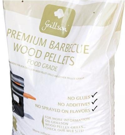 Pellet di puro legno di faggio premium