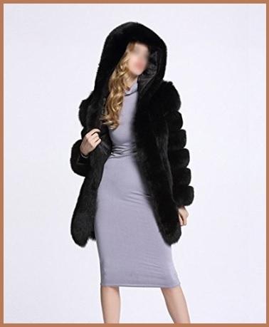 Pellicce sintetiche donna cappotti