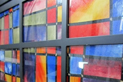 Pellicola vetri autoadesiva colorata