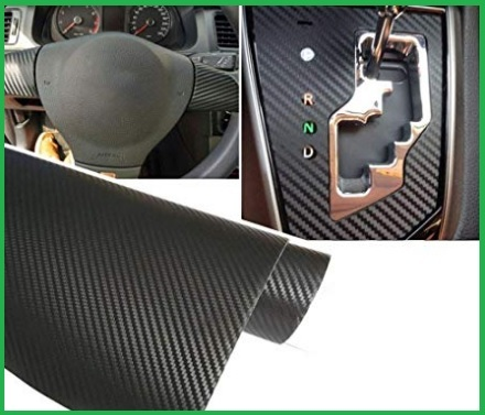 Pellicole auto 3m fibra di carbonio