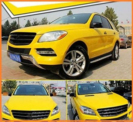 Pellicole auto color giallo
