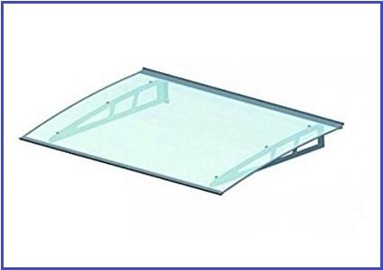 Pensiline Moderne Trasparenti In Alluminio