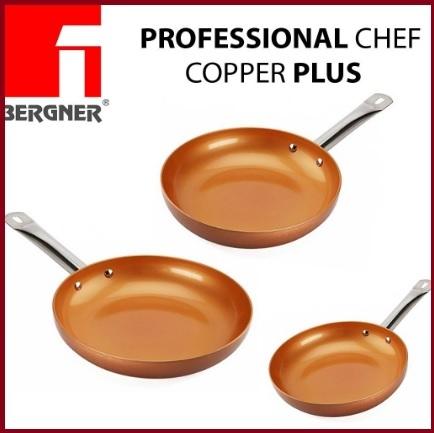 Padelle professinoal red copper plus