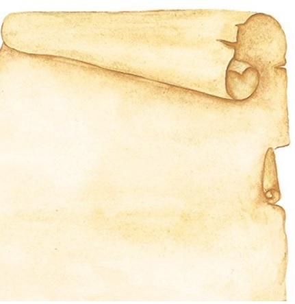 Fogli per stampe in stile pergamena a4