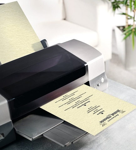 Fogli pergamena da stampare