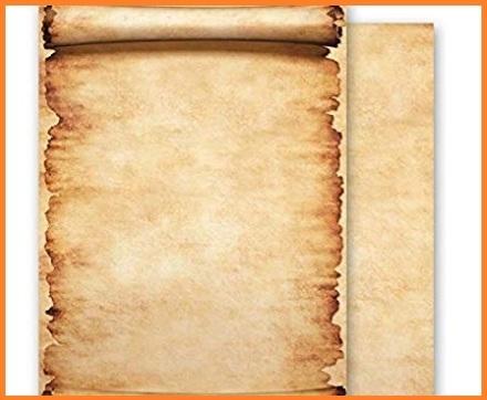 Pergamene a5 stampabile