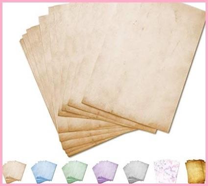 Pergamene decorate design