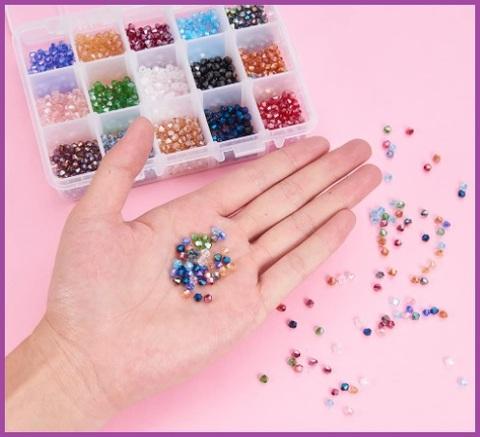 Perline Cristallo Per Bigiotteria Fai Da Te