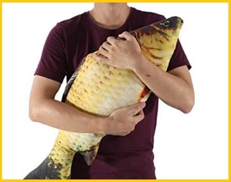 Pesce peluche giocattolo