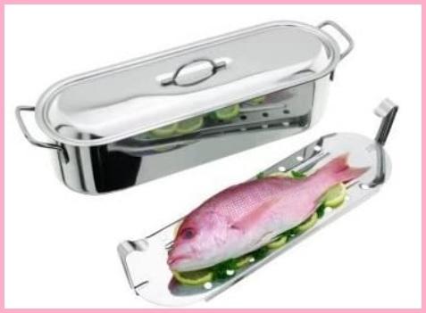 Pescera A Vapore In Acciaio