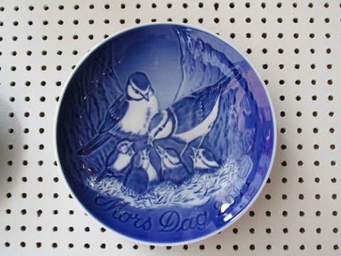 Piatto Tema Uccelli In Ceramica