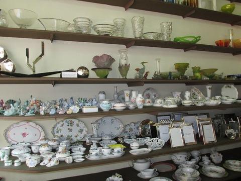 Tazzine Vassoi In Ceramica E Vasi In Vetro