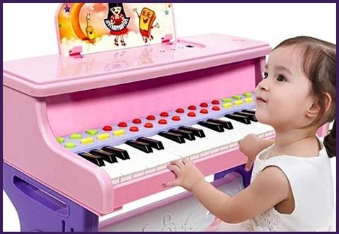 Pianoforte Elettrico Rosa