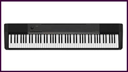 Pianoforti tastiere nero