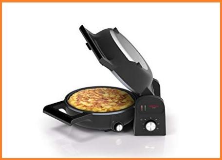 Piastra elettrica antiaderente per omelette