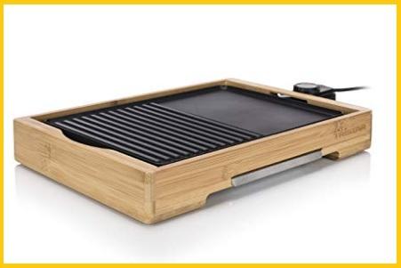 Piastra elettrica antiaderente grill