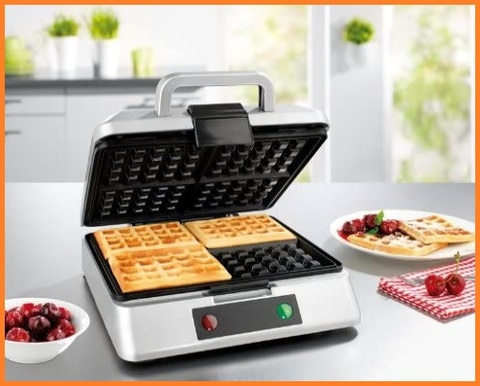 Piastra Waffle Professionale