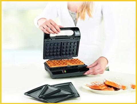 Piastra Waffle Rimovibile