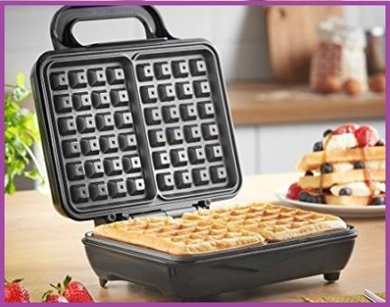 Piastra per waffle doppio