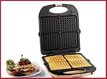 Piastra per waffle e crepes