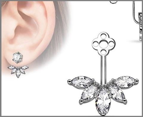 Piercing Originale A Forma Di Fiore
