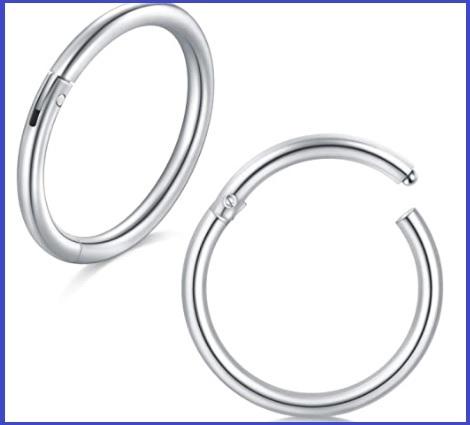 Piercing ombelico anello