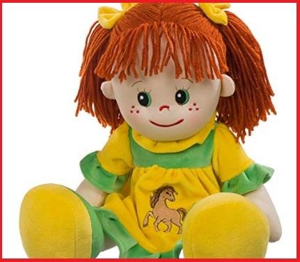 Pigotta bambola capelli rossi