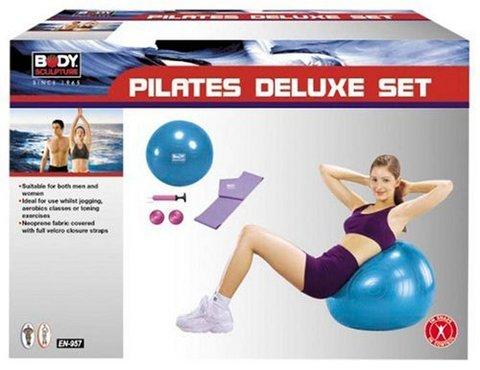 Set completo con tutti i più importanti attrezzature pilates
