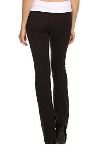 Pantaloni Tuta In Cotone Con Vita Ripiegabile
