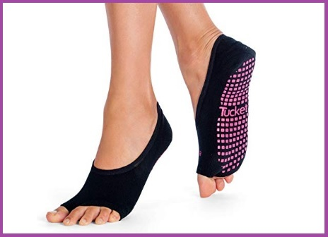 Abbigliamento pilates donna calze antiscivolo