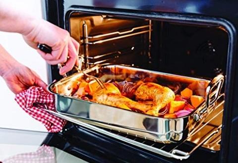 Pirofila in acciaio da forno