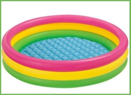 Piscine gonfiabili per bambini da giardino colorate