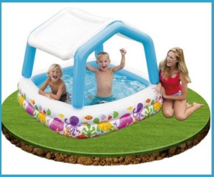 Vendita online piscine gonfiabili con parasole