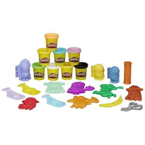 Play doh minions creazione 8 lattine