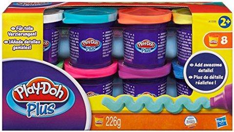 Playdoh confezione 8 vasetti plus