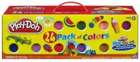 Play-doh plastilina confezione da 24 vasetti