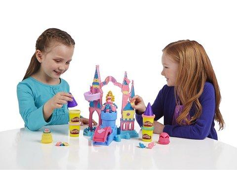 Playdoh il castello di aurora