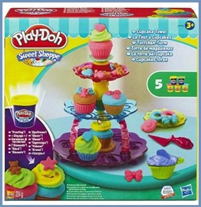 Play doh la torre dei cupcake