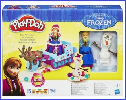 Play doh principesse frozen