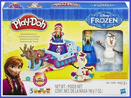 Playdoh Frozen Adventure