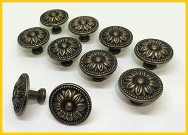 Pomello bronzo anticato