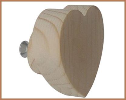 Pomello cuore legno