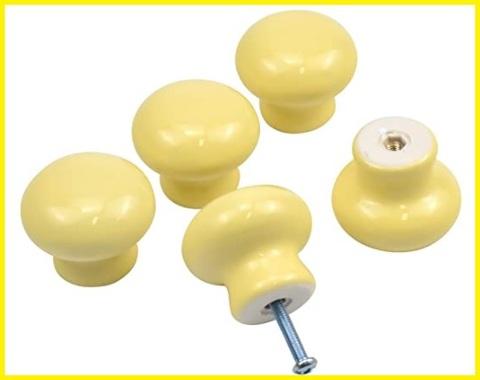 Pomello giallo armadio